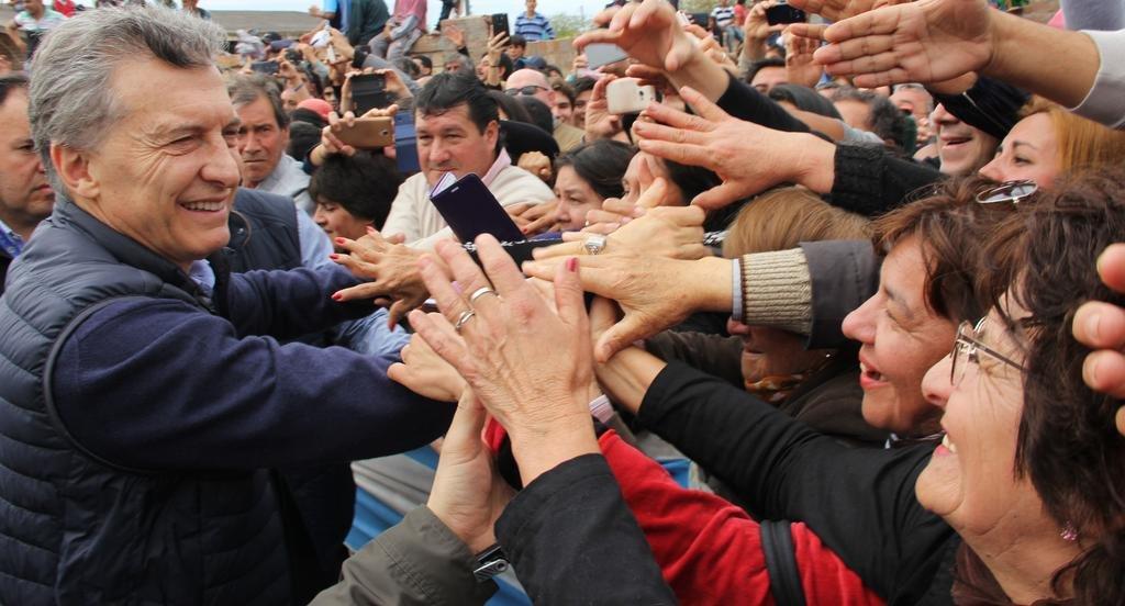 Macri confia en solucionar la pobreza