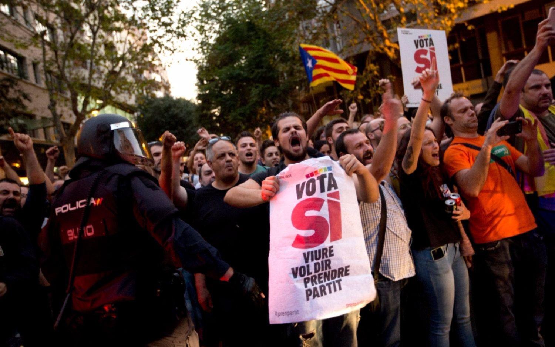 Admiten que la detención de dirigentes condiciona la votación del referéndum catalán