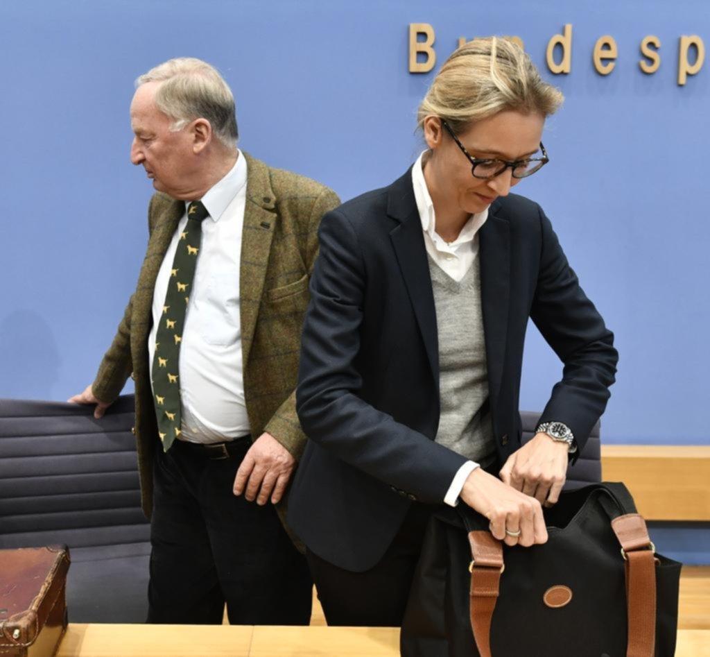 Primeras grietas en la ultraderecha de Alemania