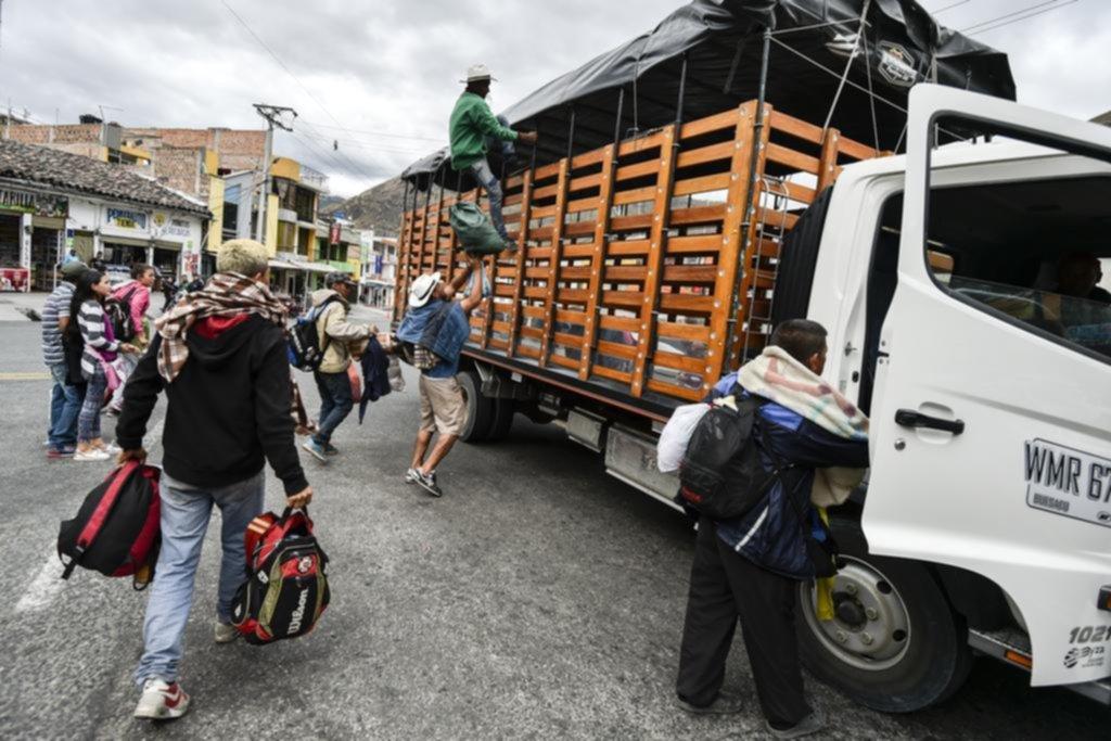 Escapar del hambre y la miseria, el objetivo que mueve a miles hacia las fronteras