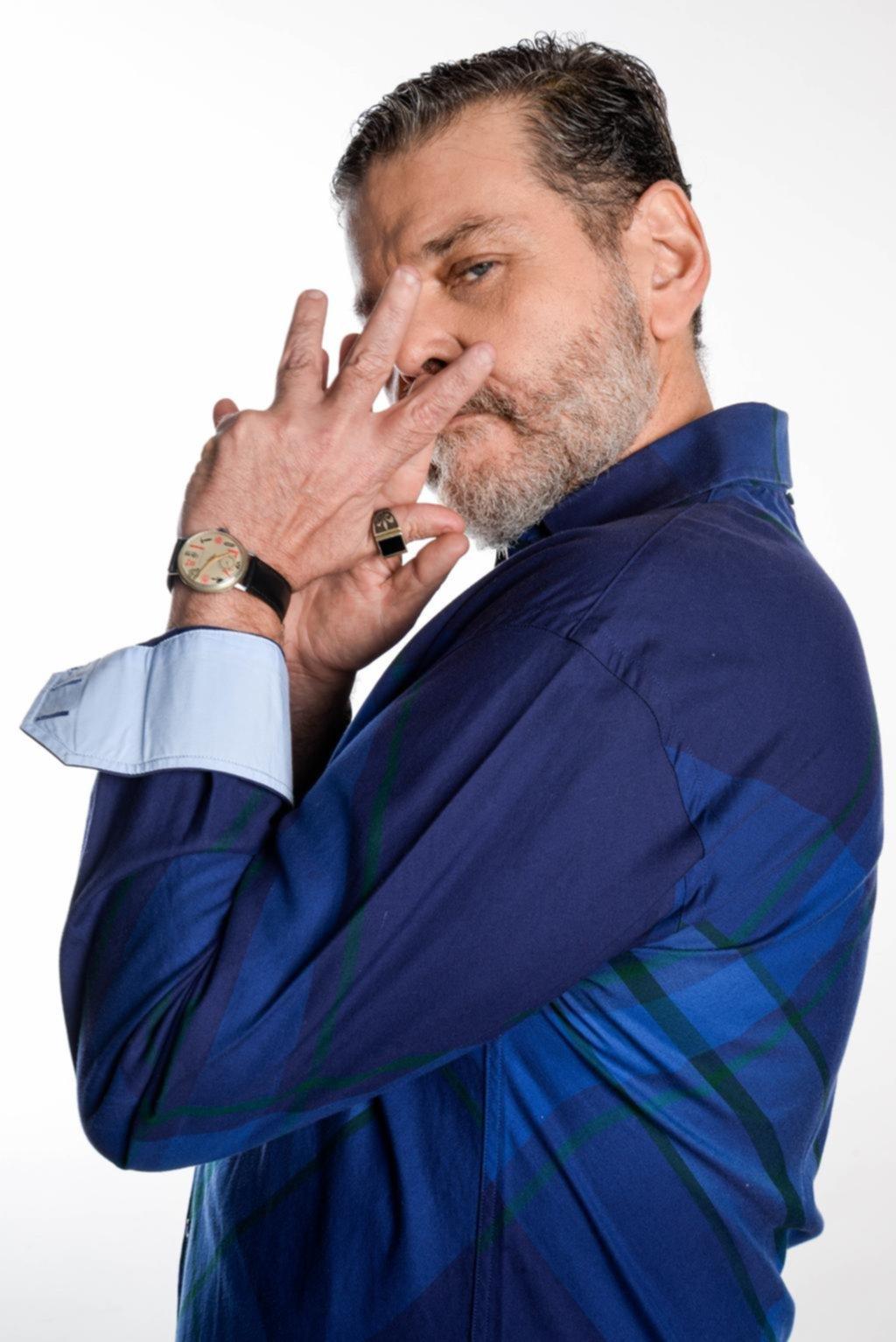 """Alfredo Casero en La Plata: """"Si a alguien no le gusta lo que digo, no le gusta: yo más jugado no puedo estar en lo mío"""""""