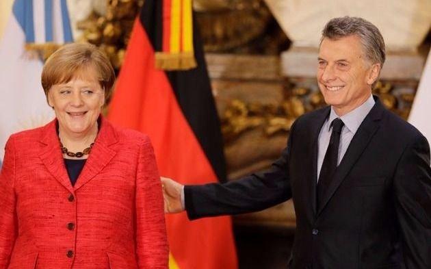 Macri dialogó por teléfono con Angela Merkel sobre la crisis y la Cumbre del G-20