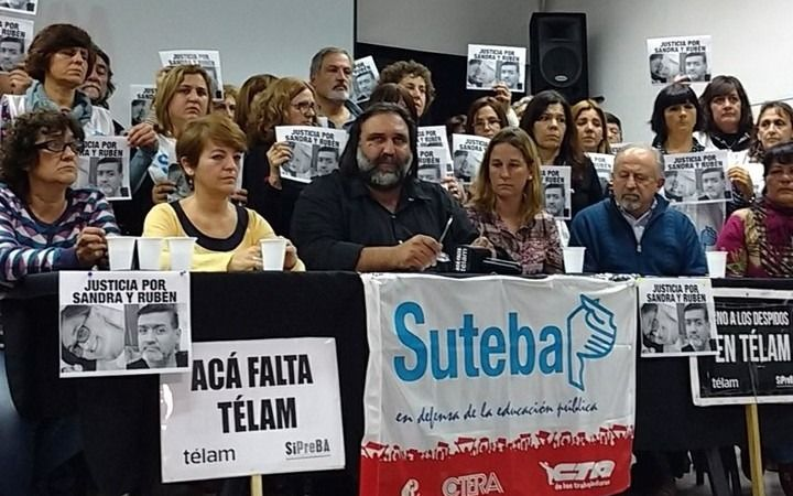 """Baradel denunció que """"secuestraron"""" y """"torturaron"""" a una maestra de Moreno"""
