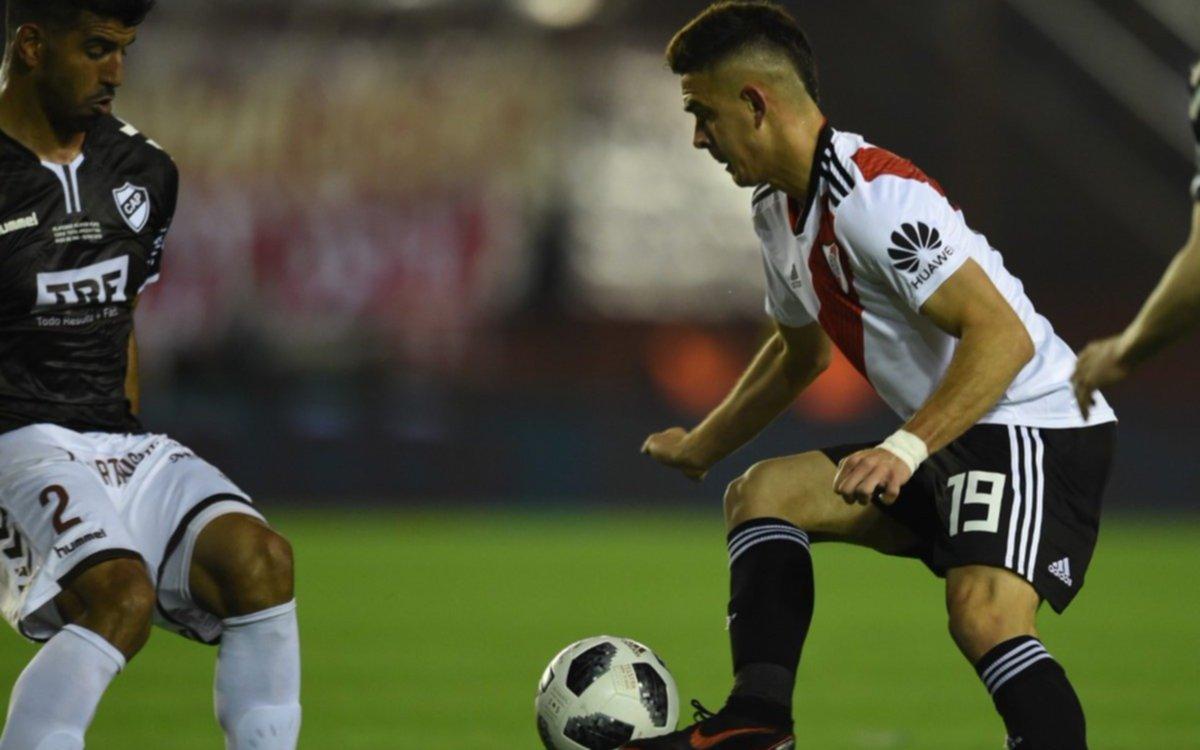 River le ganó 2 a 0 a Platense por la Copa Argentina y está en cuartos