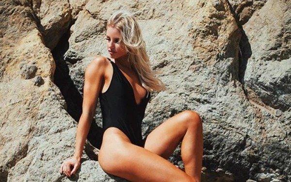 Una belleza sueca suelta en Instagram