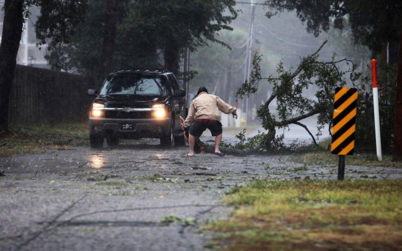 El huracán Florence llegó a EE UU