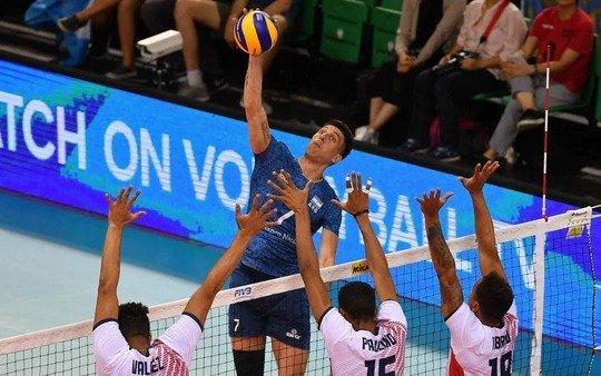 Mundial de voley: Argentina consiguió su primer triunfo frente a los dominicanos
