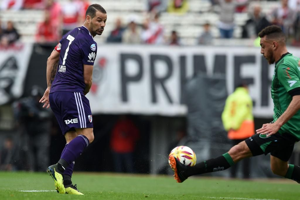 River se destapó, y le hizo cuatro a San Martín, justo en la previa de un partido clave por la Libertadores
