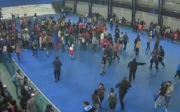 Violencia en futsal femenino: suspendieron la final entre San Lorenzo y Huracán