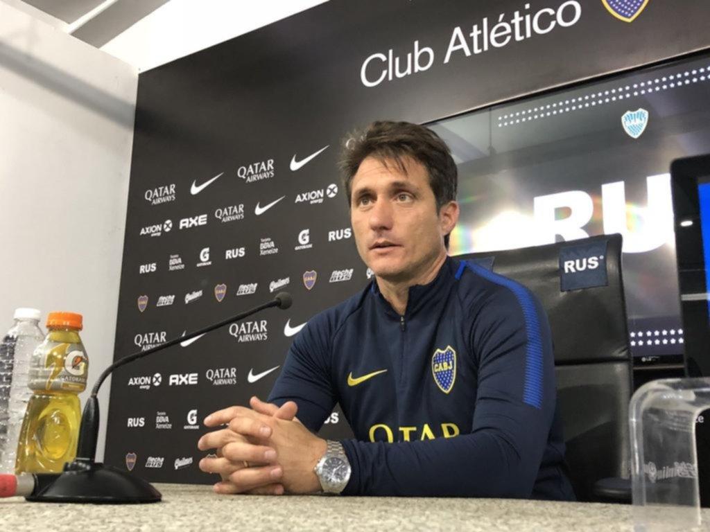 Guillermo definió el equipo: ¿cómo formará Boca ante River?