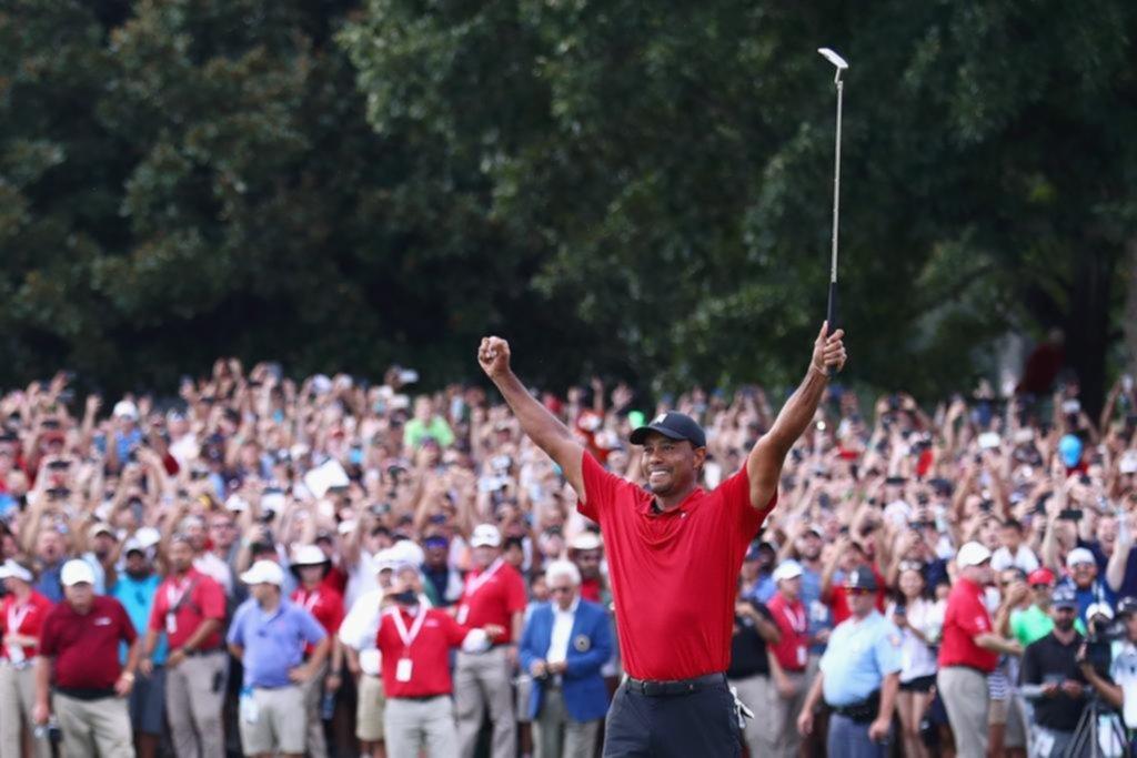 El triunfo de Tiger Woods hizo arder los ratings de televisión