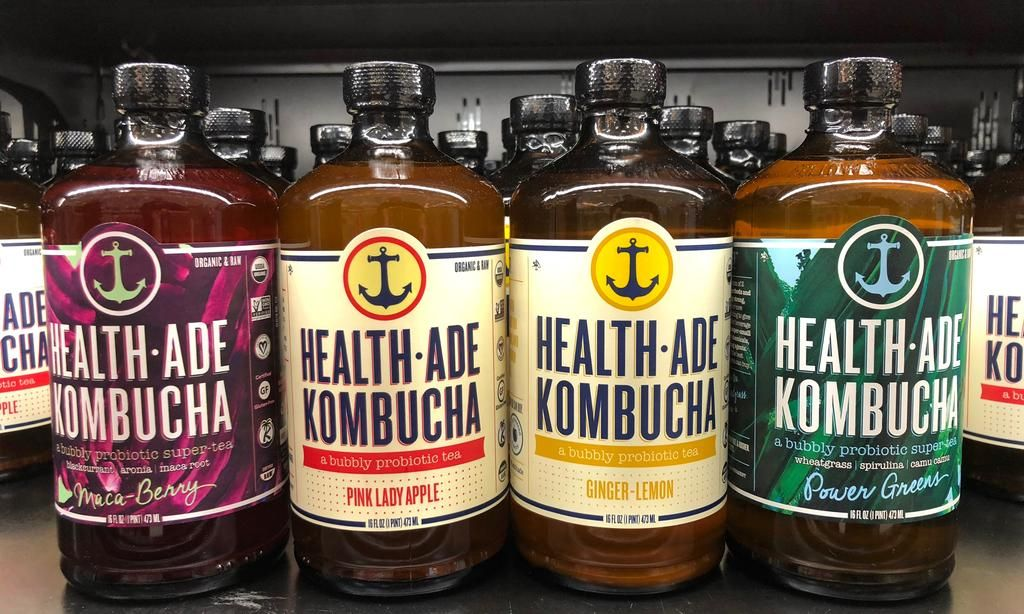 Kombucha: el refresco natural que es furor en Estados Unidos