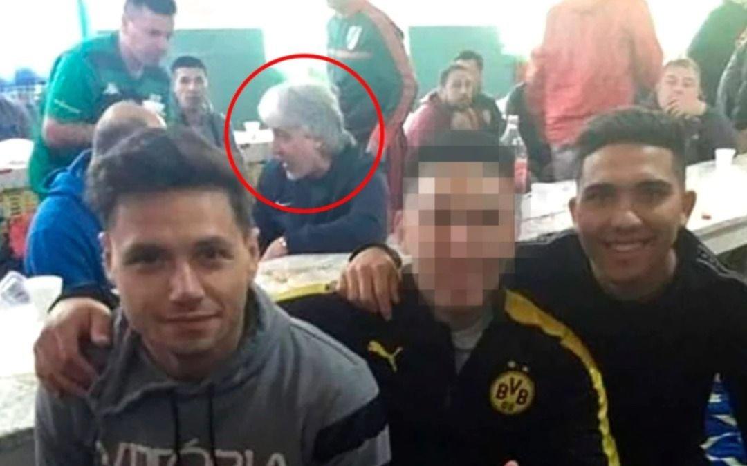Di Zeo y tres jugadores de Boca visitaron a barras presos