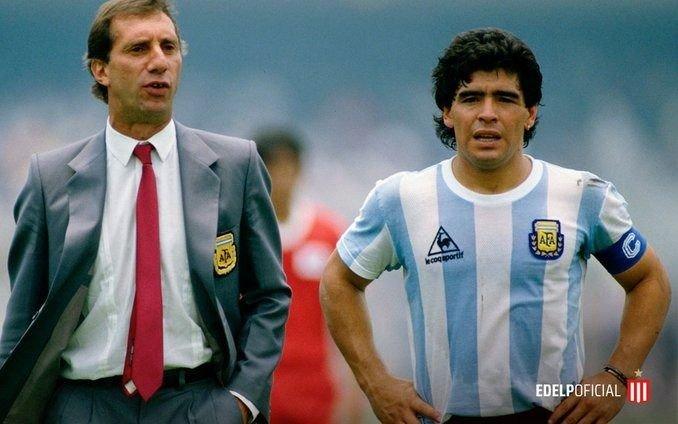Estudiantes le dio la bienvenida a Maradona y Morla respondió