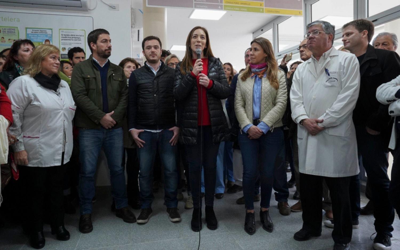 Vidal inauguró en Mercedes la guardia hospitalaria número 50
