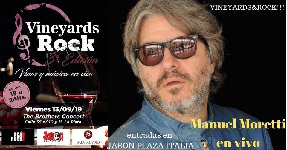 """Llega la tercera edición de """"Vineyards & Rock 2019"""""""