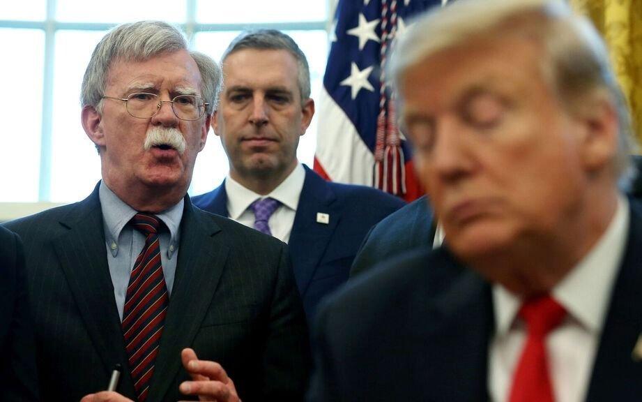 Trump echó a su asesor en Seguridad John Bolton tras varios cortocircuitos