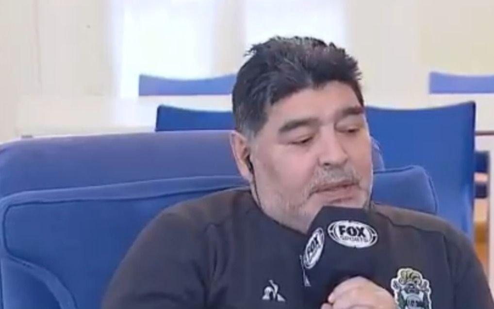 """Maradona: """"Fue un entrenamiento fantástico porque sabemos lo que nos jugamos"""""""