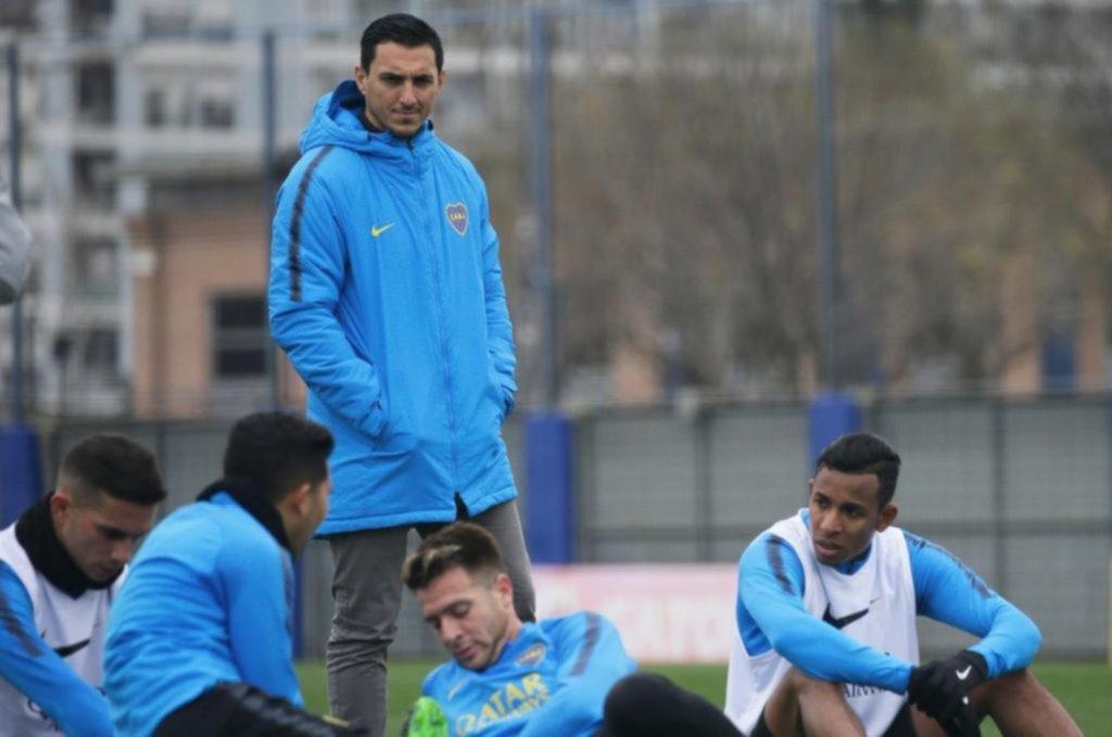 Lisandro López se entrenó diferenciado y es otra duda en Boca para el domingo
