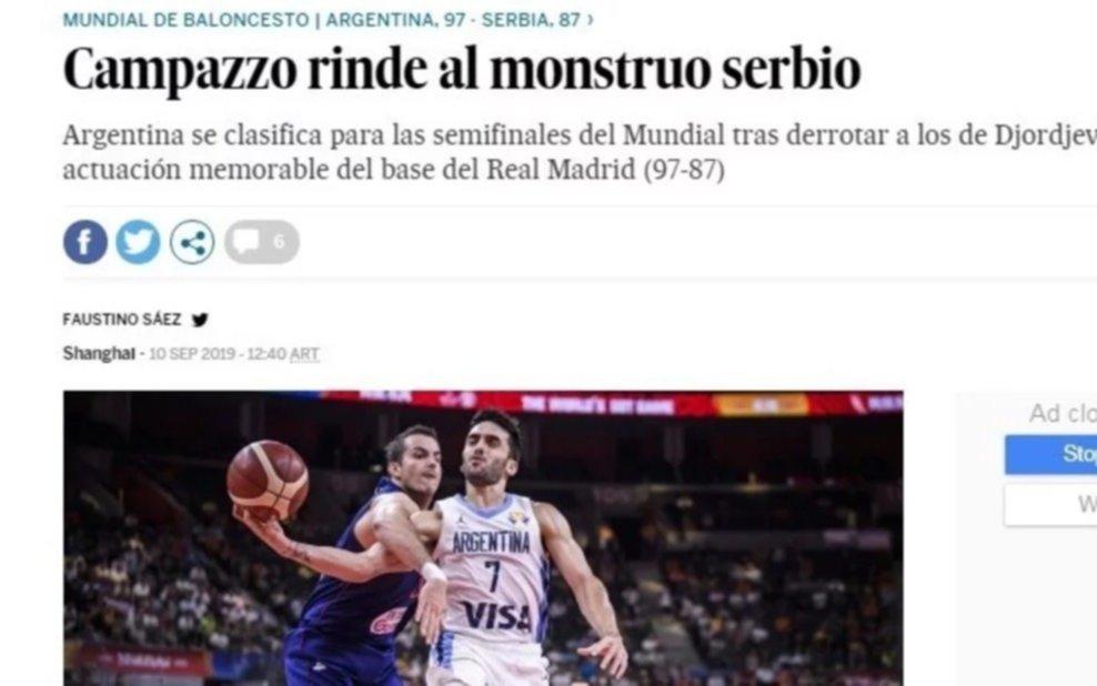 """La prensa del mundo y el triunfo con Serbia: """"Argentina dinamitó el Mundial"""""""