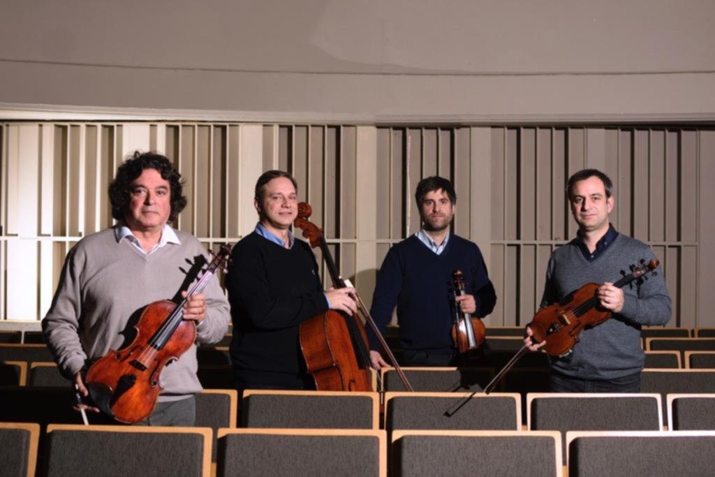 Cuerda para rato: el Cuarteto de la UNLP celebra sus 66 años