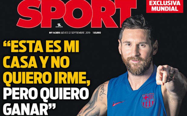 Messi, que sigue sin jugar, rompió el silencio y habló de temas polémicos