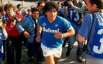 El ingenioso mensaje que el Nápoli le mandó a Diego Maradona