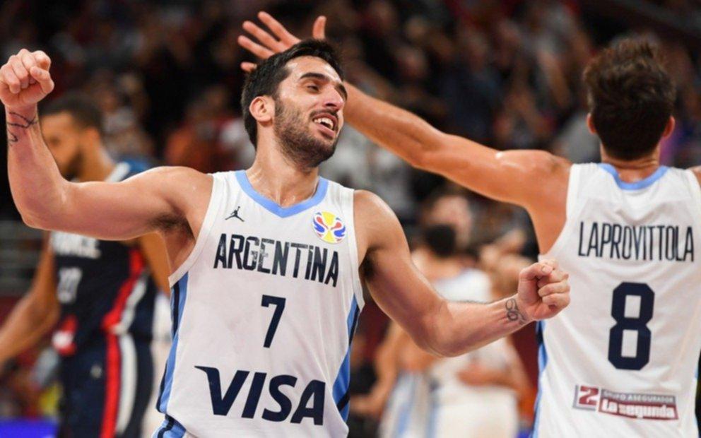 Argentina tumbó a otro gigante y es finalista