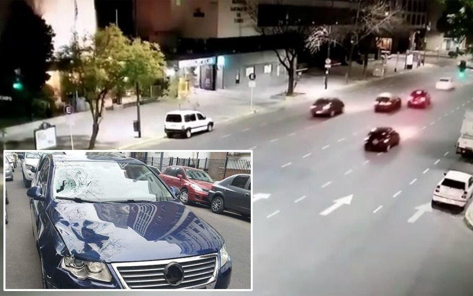 El periodista Veppo iba a 130 kilómetros por hora cuando embistió a los agentes