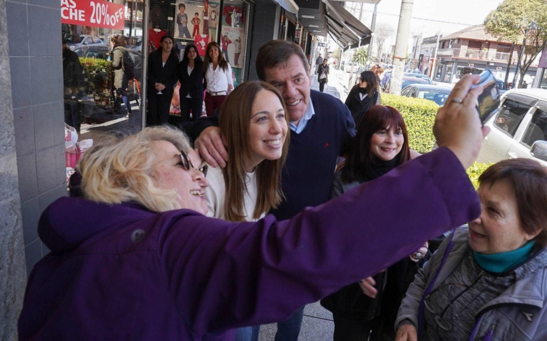 Vidal caminó por las calles de Mar del Plata y habló con vecinos