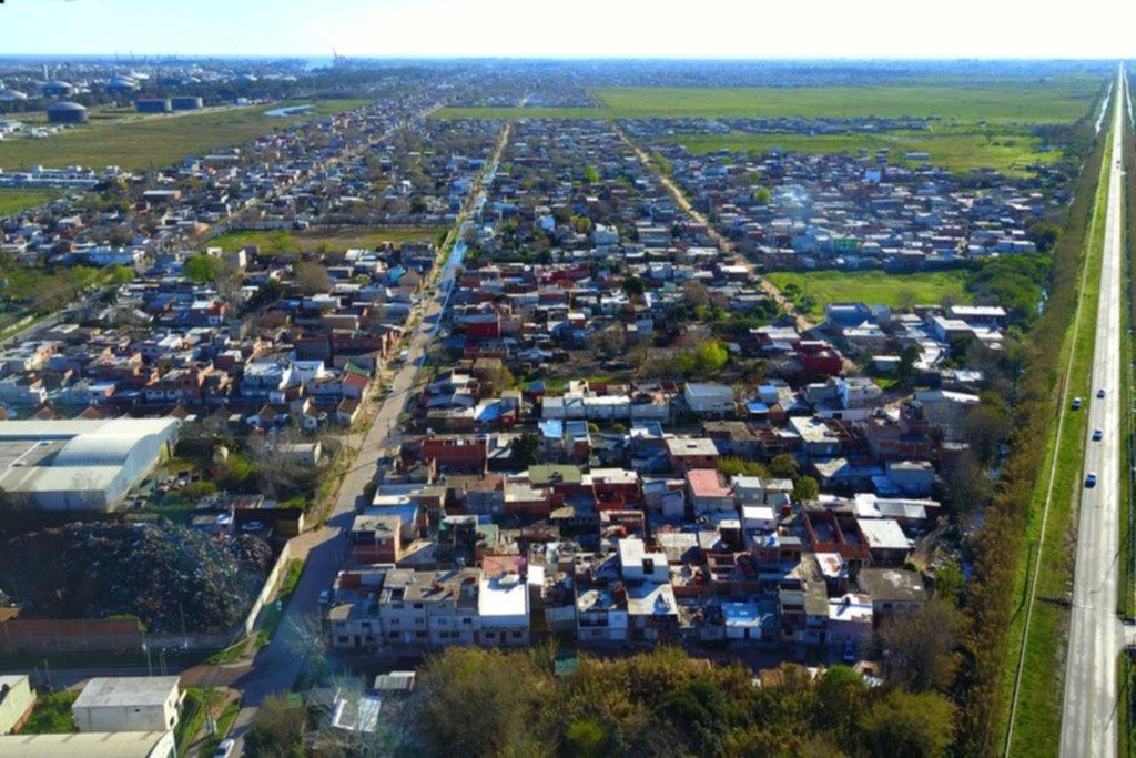 Ya son más de 130.000 los platenses que viven en barrios de emergencia