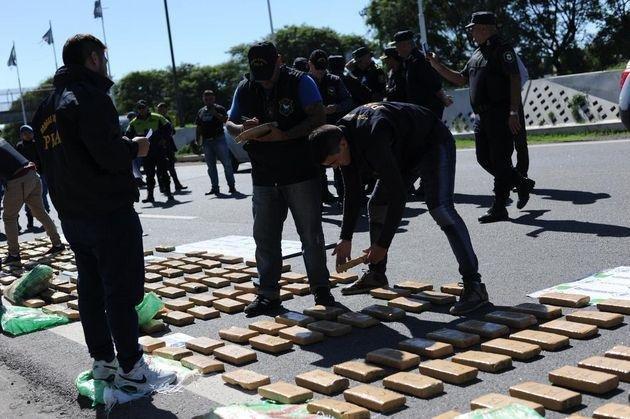 Los narcos hacen pie en La Plata: subió más de 700% el secuestro de marihuana