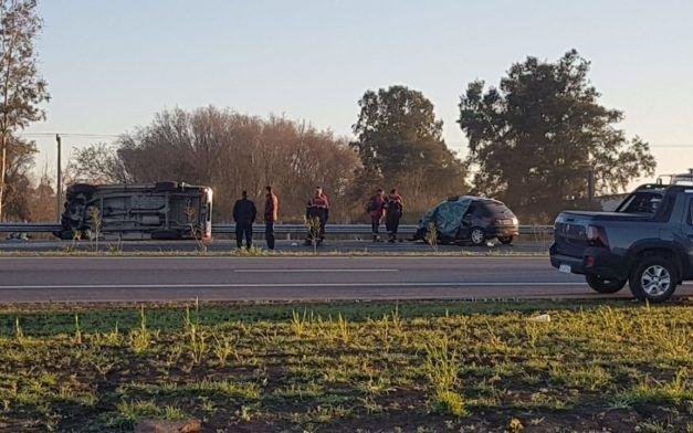 Un terrible choque causó otras dos muertes en la Ruta 7