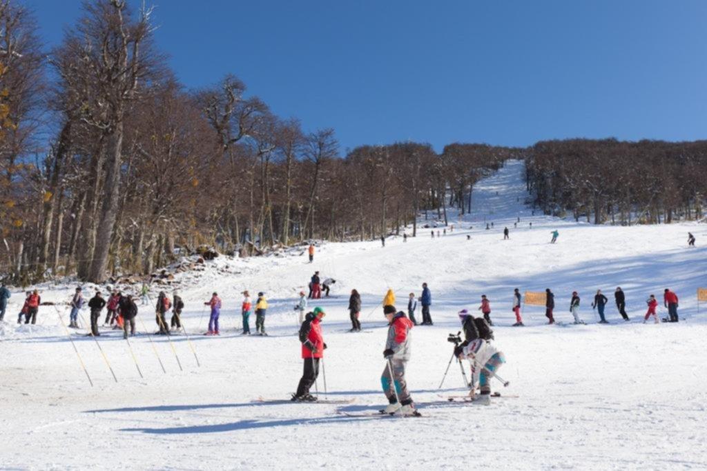 La temporada de esquí no se detiene
