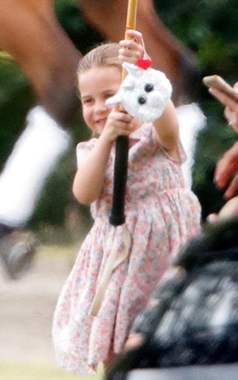 Cuál es la obsesión de la pequeña princesa Charlotte, que causa furor en el mundo