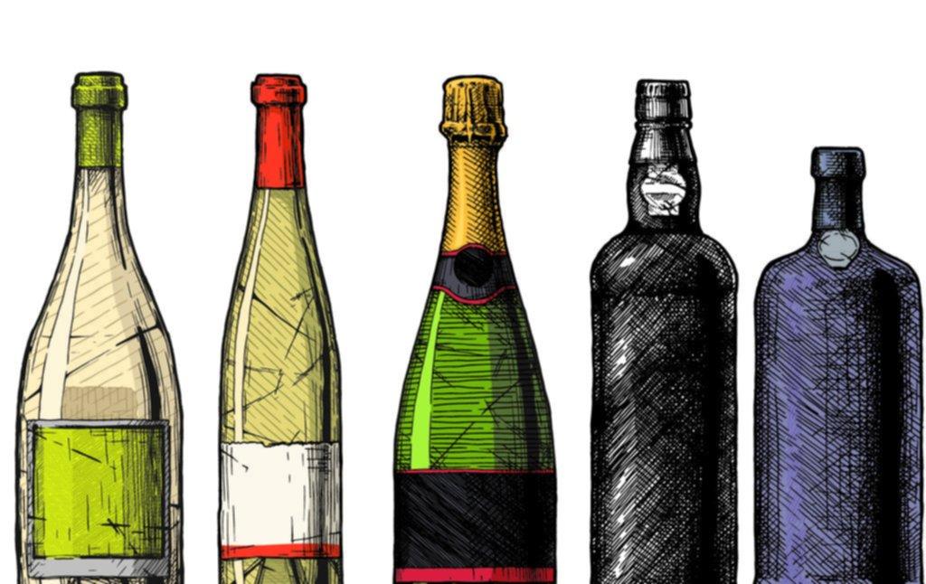 ¿Influye la forma de la botella en el vino?