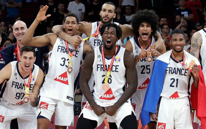 Francia se impuso a Australia por 67 a 59 y se quedó con el bronce