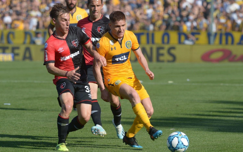 Rosario Central y Newell's igualaron 1 a 1 en el Gigante de Arroyito