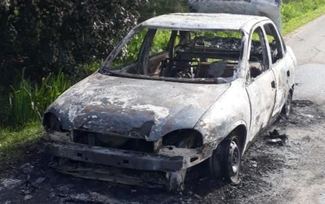 Con asaltos y fuego, los taxistas siguen siendo blanco de los delincuentes