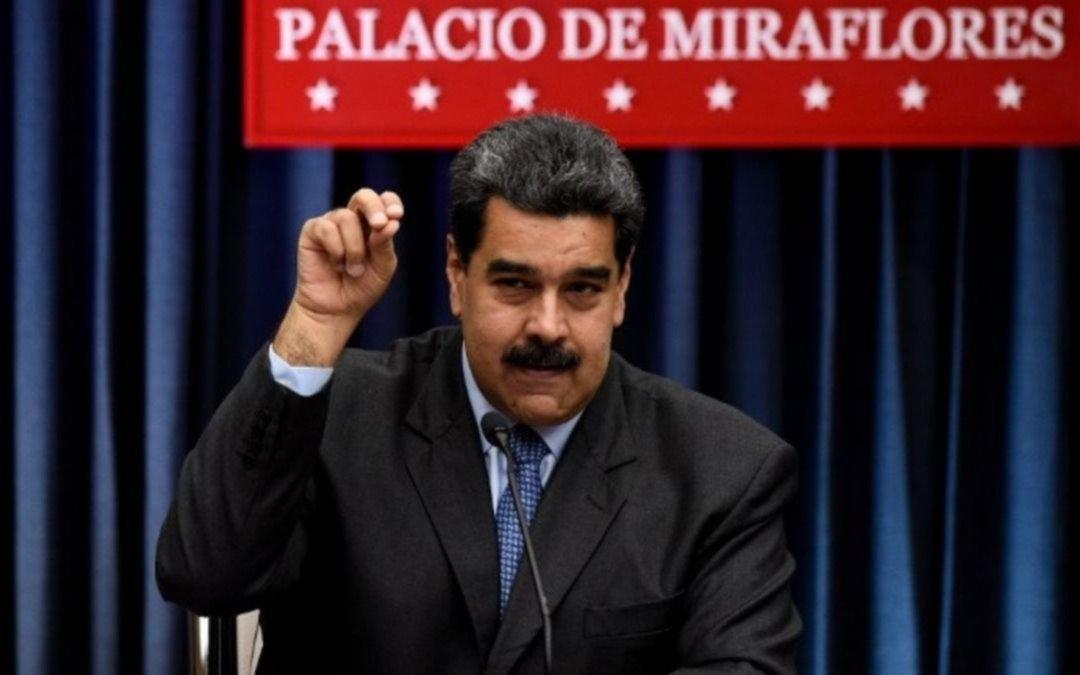 """Alberto F. criticó los """"abusos"""" en Venezuela y Maduro contestó: """"Quien lo diga es un estúpido"""""""