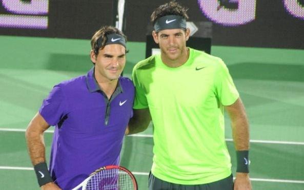 Exhibición de lujo en Buenos Aires: Delpo será el rival de Federer en Parque Roca