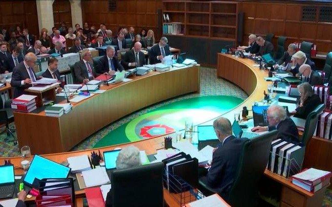 El Tribunal Supremo busca determinar si fue legal la suspensión del Parlamento británico