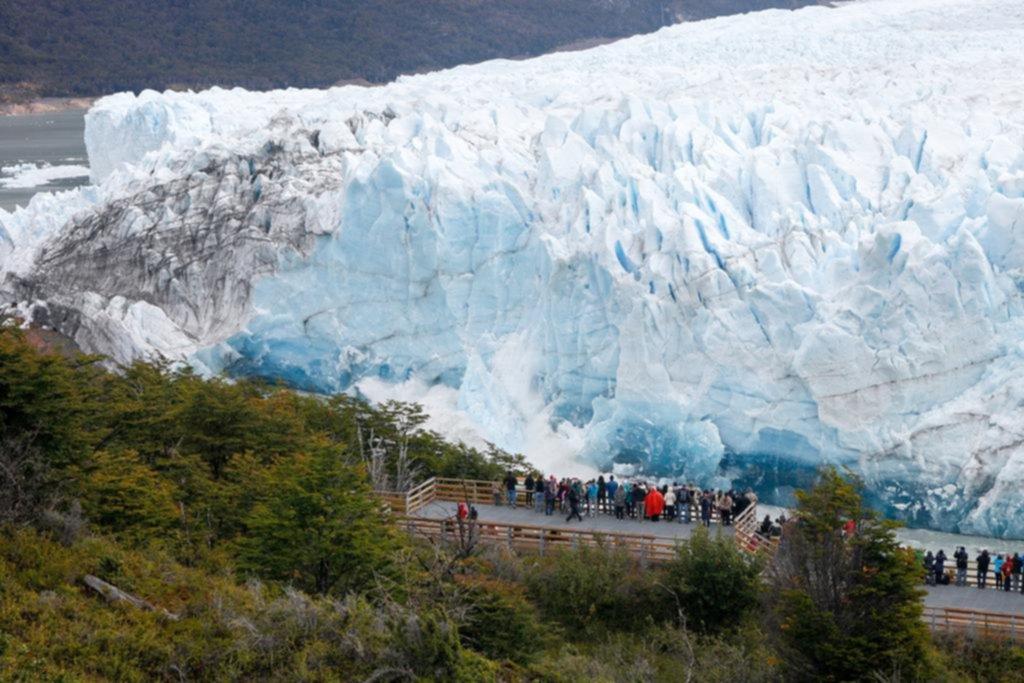 Confirman que el Perito Moreno inició su proceso de ruptura