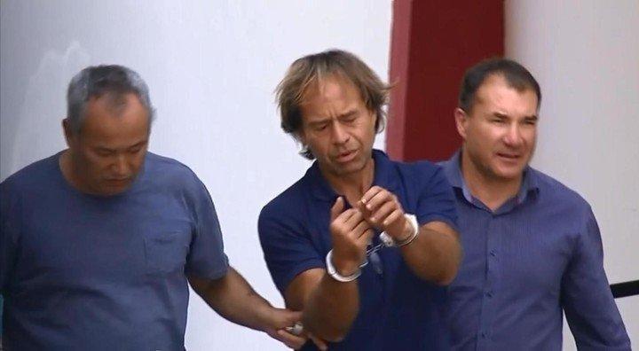 """Maguila"" Puccio zafó de la pena, pero cayó en Brasil con un documento falso"