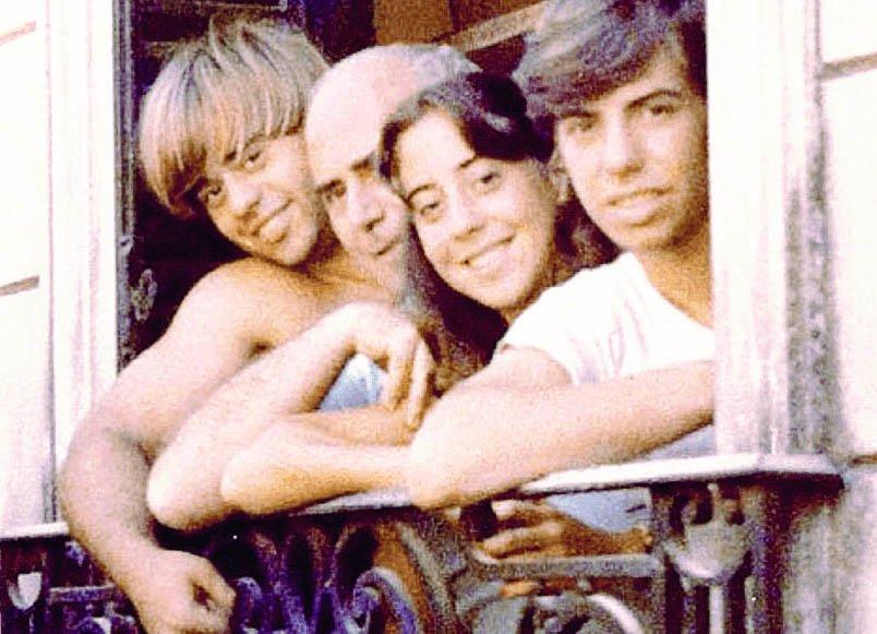 La historia de película de una familia espeluznante