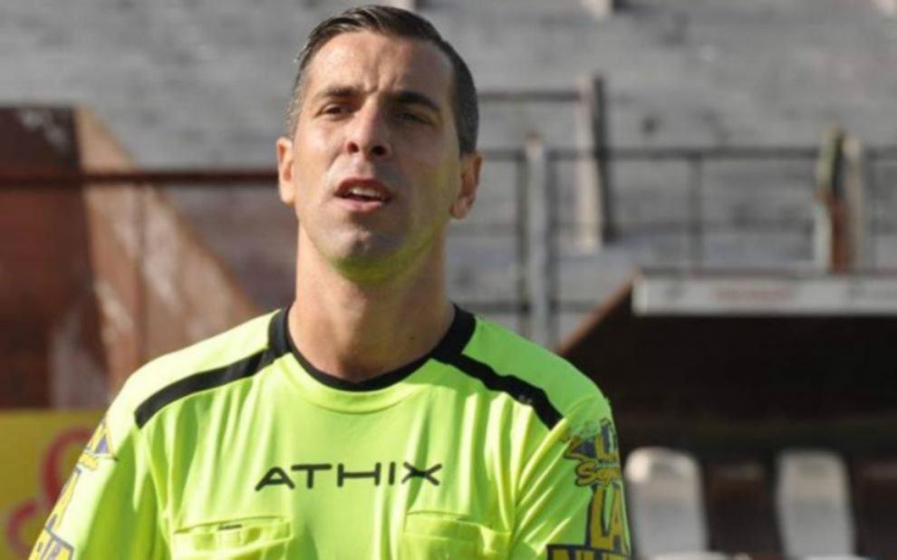 Hernán Mastrángelo será el árbitro de los albiazules el lunes en Córdoba