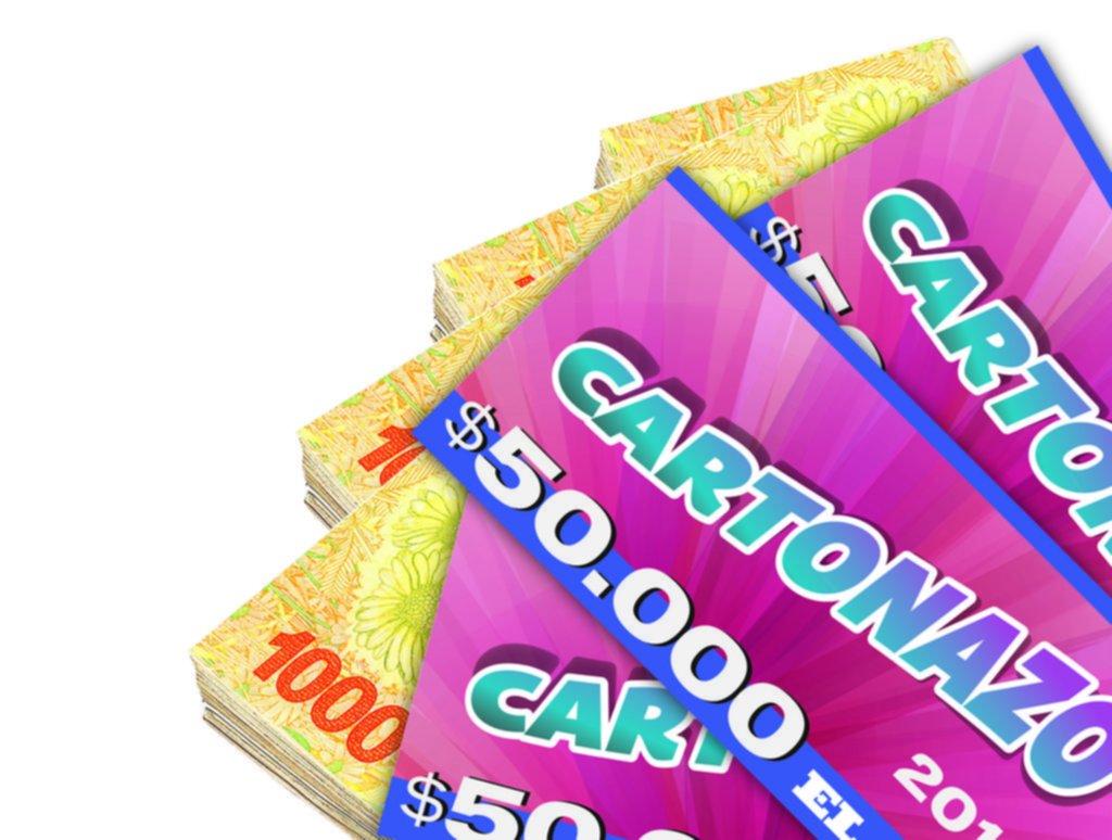 Crece la expectativa por el Cartonazo: quedó vacante y ahora el pozo es de $200.000