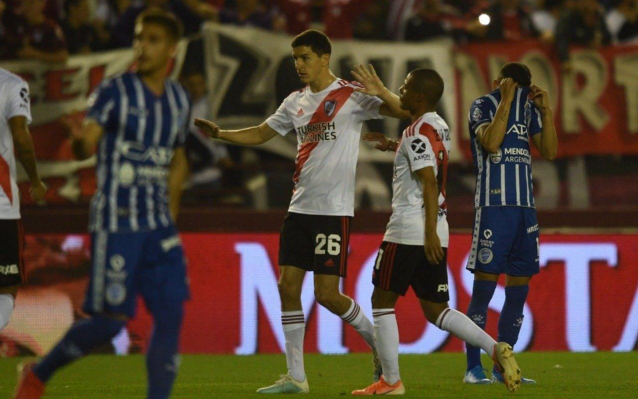 Nacho Fernández, con nuevo apodo en River, le agradeció a Riquelme