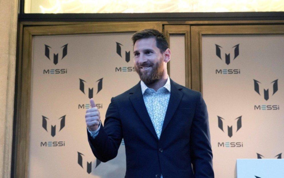 Leo Messi lanzó una colección de ropa inspirada en su vida