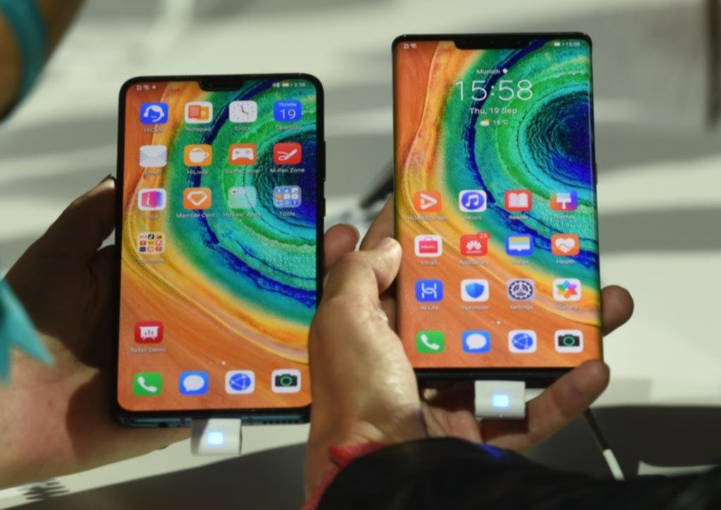 "Huawei presentó al ""Mate 30"", sin nada de Google"